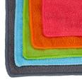 Relaxdays Mikrofasertücher 10er Set 40x30