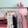 Relaxdays Kinderkleiderbügel Samt