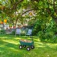 Relaxdays Kippwagen Garten