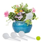 Relaxdays Bewässerungskugel Knospe 4er Set