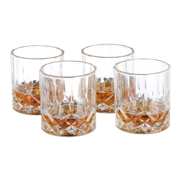 Relaxdays Whisky Gläser 4er Set