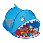 Relaxdays Pop Up Spielzelt Hai