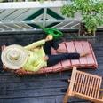 Relaxdays Quadratisches Pflanzkübel 4er Set