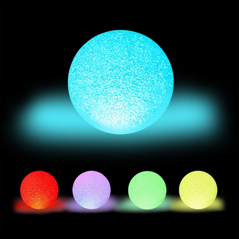 Relaxdays LED Kugelleuchte mit Farbwechsel