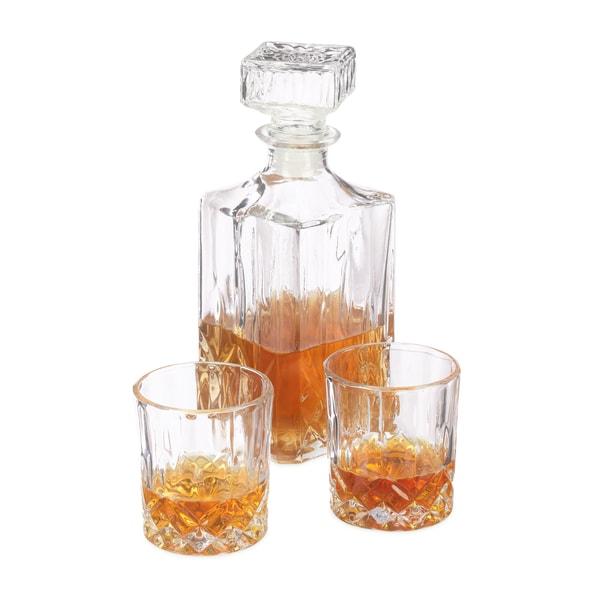 Relaxdays Whiskyset mit Karaffe