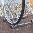 Relaxdays Fahrradständer 2x Boden & Wandmontage