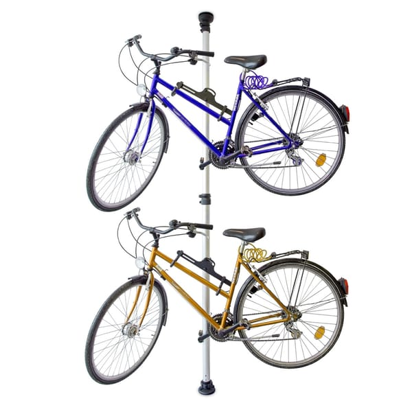 Relaxdays Teleskop Fahrradhalterung für 2 Räder