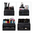 Relaxdays Make Up Organizer mit 3 Schubladen