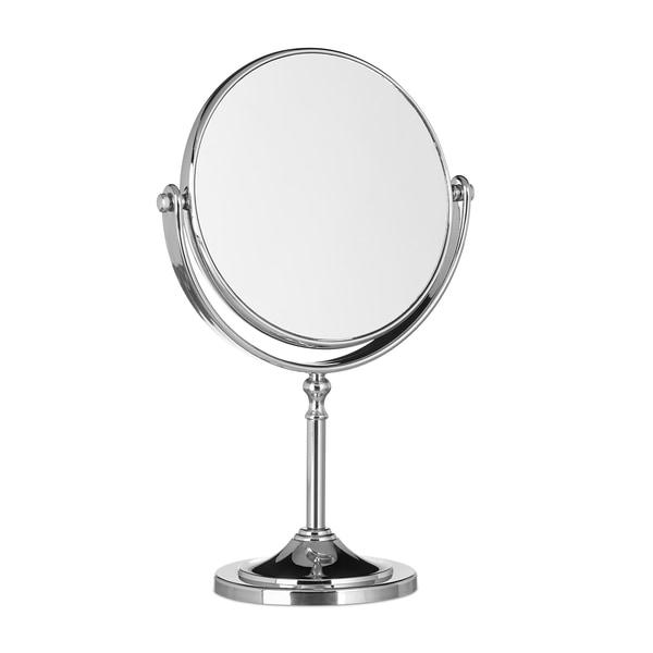 Relaxdays Kosmetikspiegel mit Vergrößerung stehend