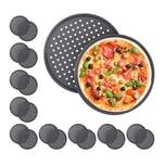 Relaxdays 20 x Pizzablech rund