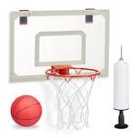 Relaxdays Basketballkorb fürs Zimmer