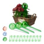 Relaxdays 24 x Bewässerungskugeln grün