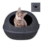 Relaxdays Katzenhöhle Filz