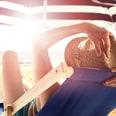 Relaxdays Bodenhülse Sonnenschirm 25 - 55 mm