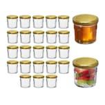 Relaxdays Einmachglas 25er Set 150 ml