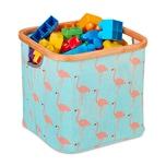Relaxdays Stoff Aufbewahrungsbox Kinder