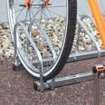 Relaxdays Fahrradständer 3 Fahrräder Stahl
