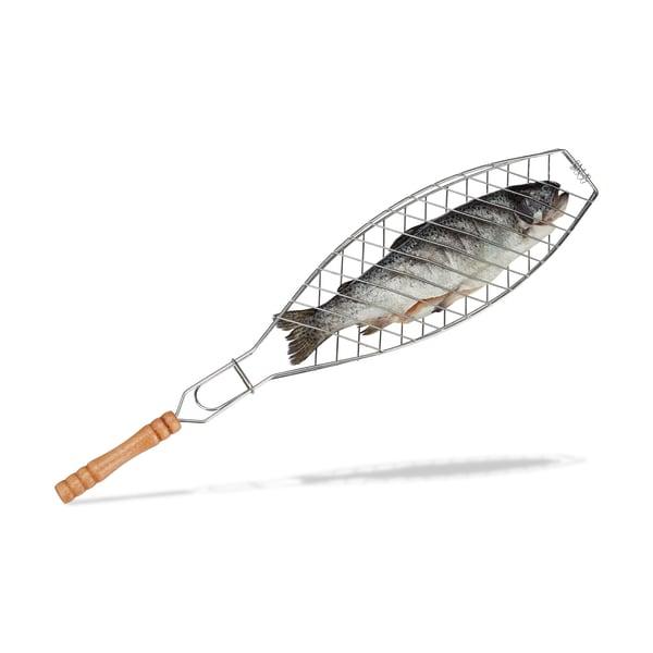 Relaxdays Fischbräter 50 cm lang