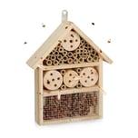 Relaxdays Naturfarbener Insektenhotel Bausatz