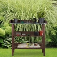 Relaxdays Pflanztisch Holz
