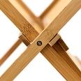 Relaxdays Abtropfgestell CROSS Bambus 47 cm breit