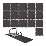 Relaxdays 16 x Schutzmatte Boden Set