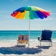 Relaxdays Bodenhülse für Sonnenschirm