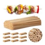 Relaxdays Schaschlikspieße aus Bambus 5000 Stück