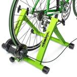 Relaxdays Fahrrad Rollentrainer mit 6 Gängen