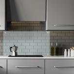 Relaxdays Spritzschutz für die Küche 100 cm