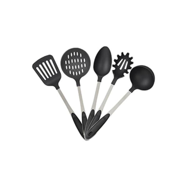 Relaxdays Küchenutensilien Edelstahl 5er Set
