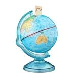 Relaxdays Spardose Globus drehbar