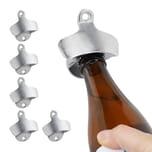 Relaxdays 6 x Wandflaschenöffner