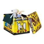 Relaxdays Faltbare Spielzeugkiste mit Stauraum
