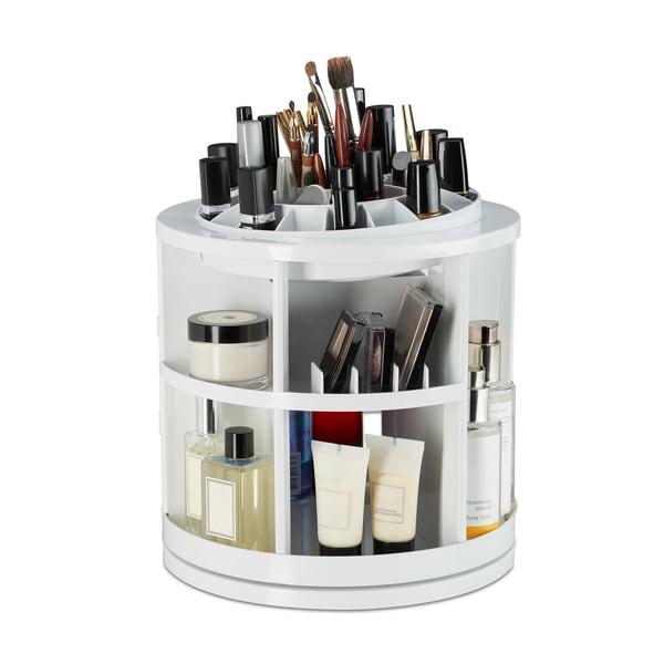 Relaxdays Kosmetik Organizer 360 Grad drehbar
