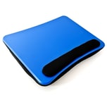 Relaxdays Laptopkissen mit Handauflage Blau