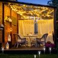 Relaxdays LED Solarleuchte 10er Set