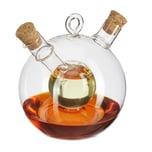 Relaxdays Essig- und Ölspender 2 in 1