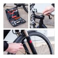 Relaxdays Fahrrad-Werkzeugkoffer