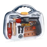 Relaxdays Werkzeugkoffer für Kinder