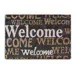 Relaxdays Fußmatte 'Welcome' Kokos 40x60 cm