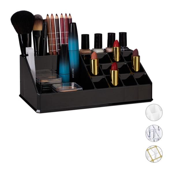 Relaxdays Kosmetikorganizer Acryl