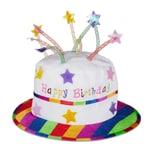 Relaxdays Happy Birthday Hut Torte