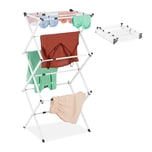 Relaxdays Wäscheständer klappbar & ausziehbar
