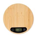 Relaxdays Digitale Küchenwaage aus Bambus