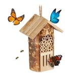 Relaxdays Insektenhotel Bienen & Schmetterlinge