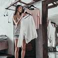 Relaxdays Kleiderbügel 20er Set mit Hosenstange