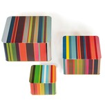 REMEMBER Blechdosenset 'Stripes' bunt