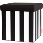 REMEMBER Sitzbox 'Black&White' bunt