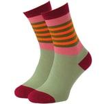 REMEMBER Damen Socken Modell 11, 36 - 41 bunt